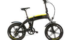 Ducati SCR-E Sport: visuale laterale