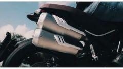 Ducati Scrambler 1100 Pro e Pro Sport: la zona posteriore