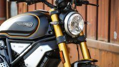 Ducati Scrambler 1100 Sport: dettaglio del frontale