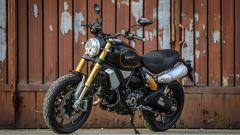 Ducati Scrambler 1100 Sport: faro a LED e la forcella dorata caratterizzano la linea