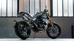 Ducati Scrambler 1100 Sport Pro: sotto di lei la versione Pro, sotto la quale potrebbe piazzarsi una versione