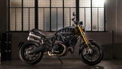 Ducati Scrambler 1100 Sport Pro vista laterale