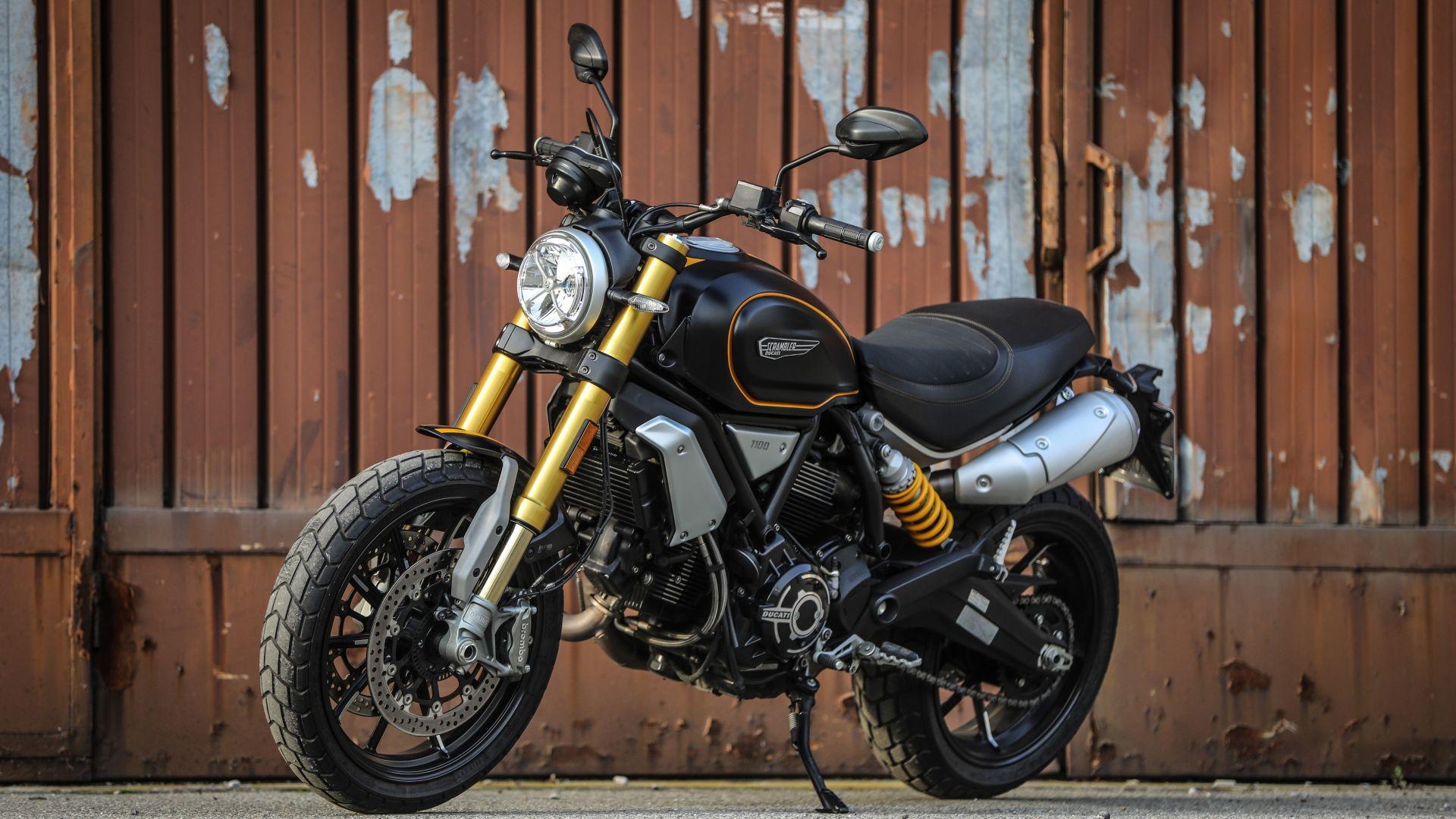 Ducati Scrambler 1100 Sport frontale