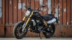 Ducati Scrambler 1100 Sport: vista 3/4 anteriore