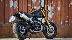 Ducati Scrambler 1100 Sport: vista 3/4 posteriore