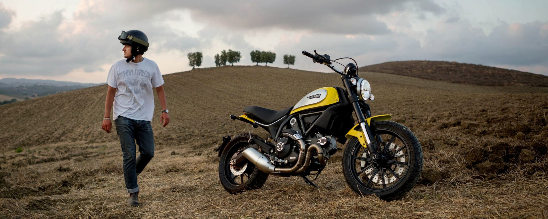 Ducati Scrambler in video