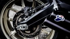 Ducati Scrambler Café Racer, cerchio posteriore