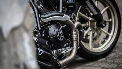 Ducati Scrambler Café Racer, collettori di scarico