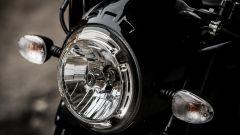 Ducati Scrambler Café Racer, faro anteriore