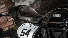 Ducati Scrambler Café Racer, la tabella portanumero