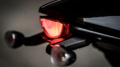 Ducati Scrambler Café Racer, luce posteriore a Led