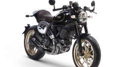 Ducati Scrambler Café Racer, tre quarti anteriore