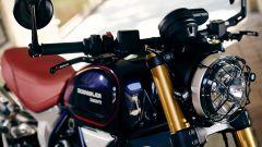 Ducati Scrambler Club Italia: la griglia protettiva per il faro