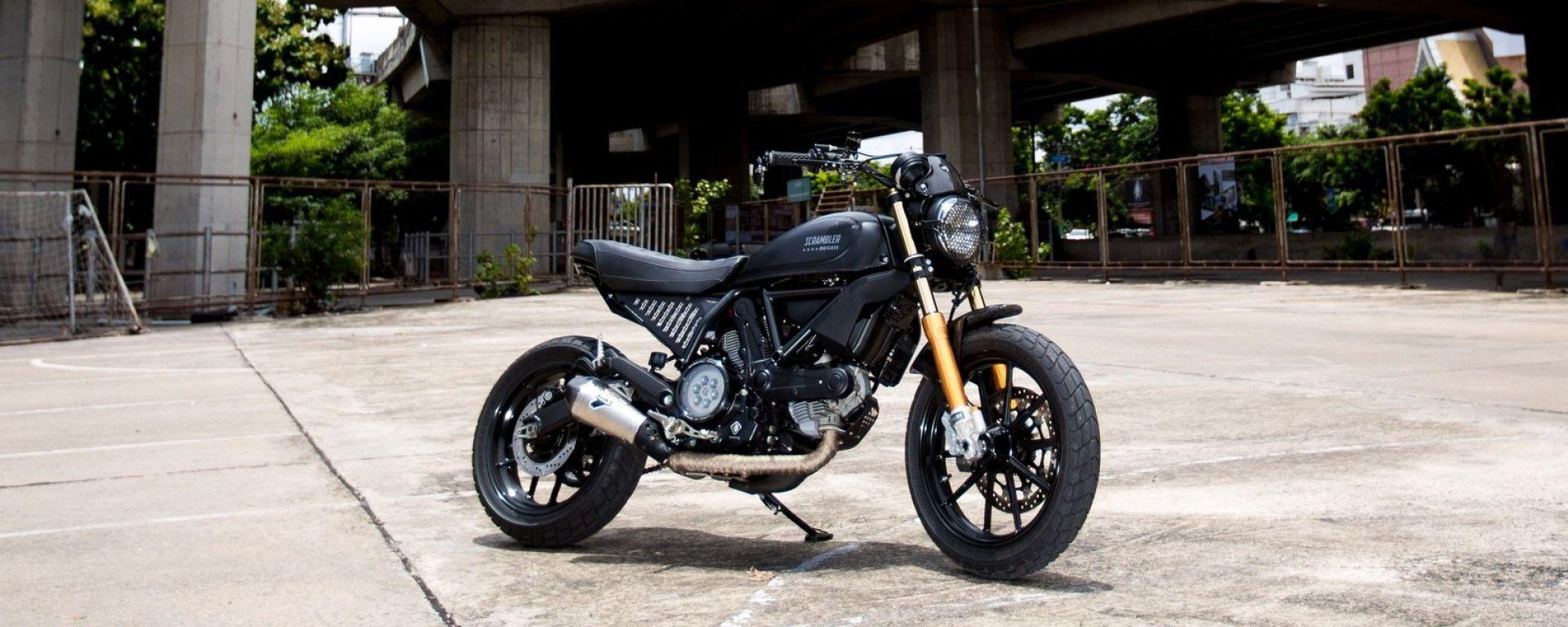 Ducati Scrambler Custom Rumble: la finalista Aree