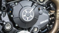Ducati Scrambler Desert Sled, belle le lavorazioni della meccanica