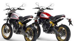 Ducati Scrambler Desert Sled bianca e rossa
