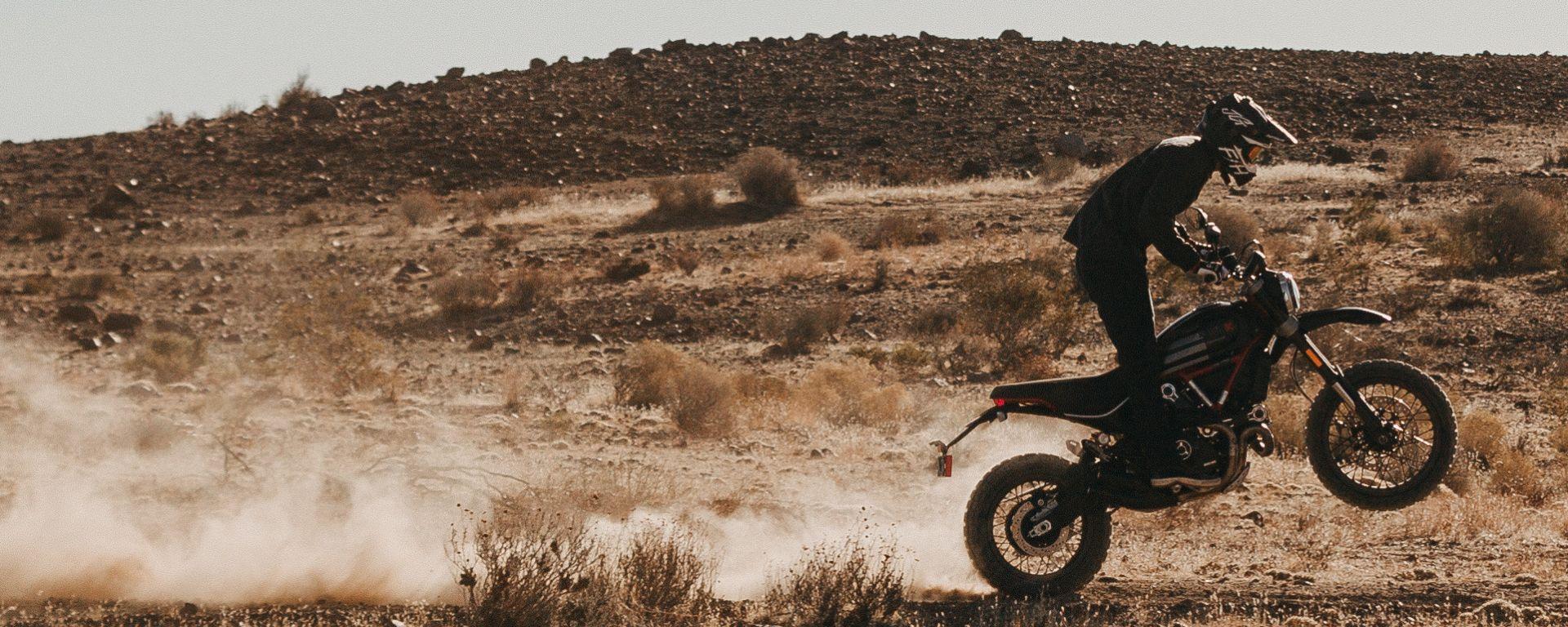 Ducati Desert Sled Fasthouse, la Scrambler in edizione limitata