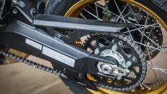 Ducati Scrambler Desert Sled, il nuovo forcellone