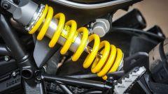Ducati Scrambler Desert Sled, mono posteriore senza leveraggi