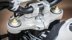 Ducati Scrambler Desert Sled, piastra di sterzo