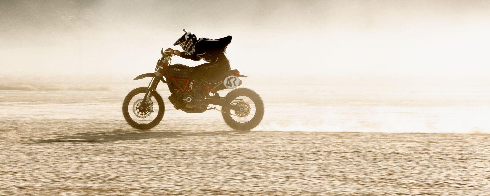Ducati Scrambler Desert Sled: trionfo alla Mint 400