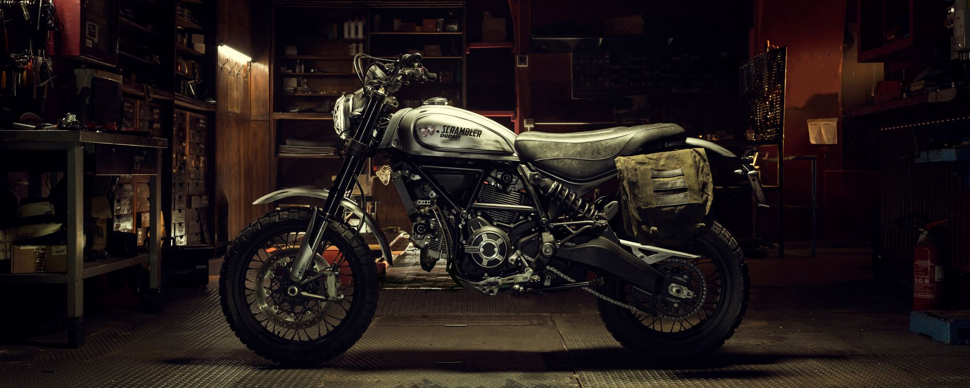 Ducati Scrambler Desert Sled: la sepecial in stile Days Gone