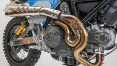 Ducati Scrambler Emblem By Lussiati: dettaglio dei collettori