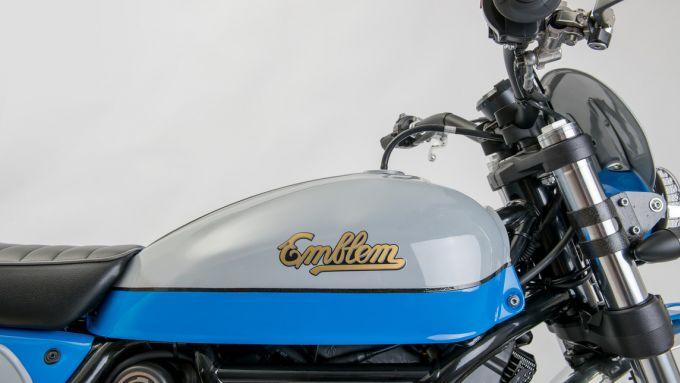 Ducati Scrambler serbatoio