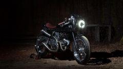 Ducati Scrambler Essenza, tre quarti anteriore