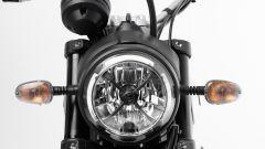 Ducati Scrambler Icon Dark, faro anteriore