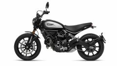 Ducati Scrambler Icon Dark, vista laterale