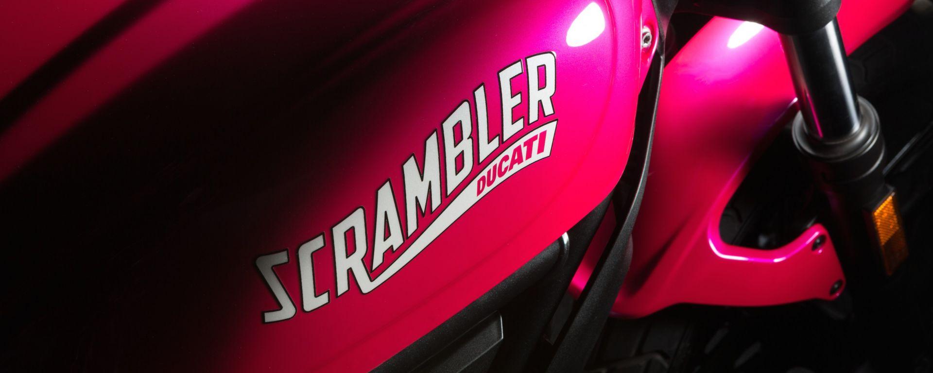 Ducati Scrambler Shocking, la special per la Notte Rosa 2016