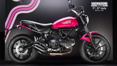 Ducati Scrambler Shocking, vista laterale