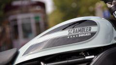 Ducati Scrambler Sixty2, serbatoio