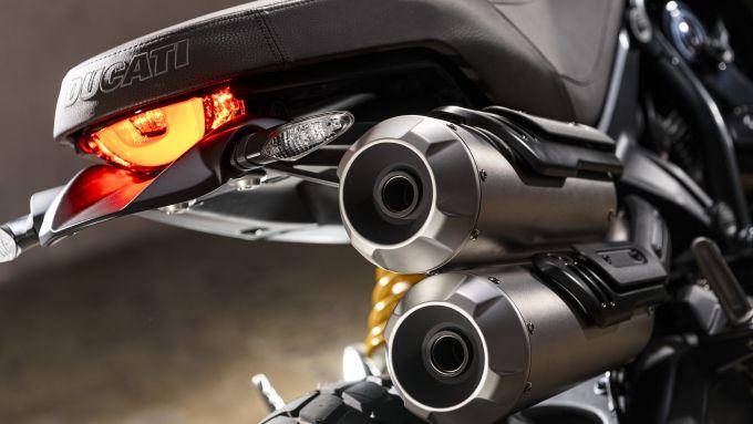 Ducati Scrampler 1100 Sport Pro: dettaglio posteriore