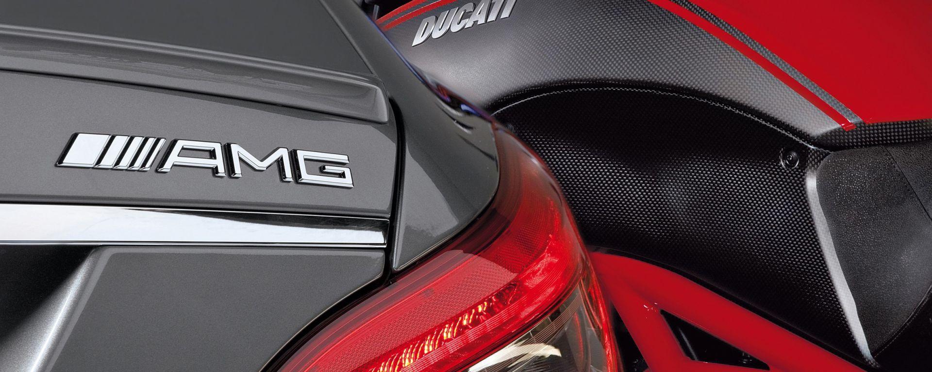 La rossa Ducati si allea con Mercedes-AMG