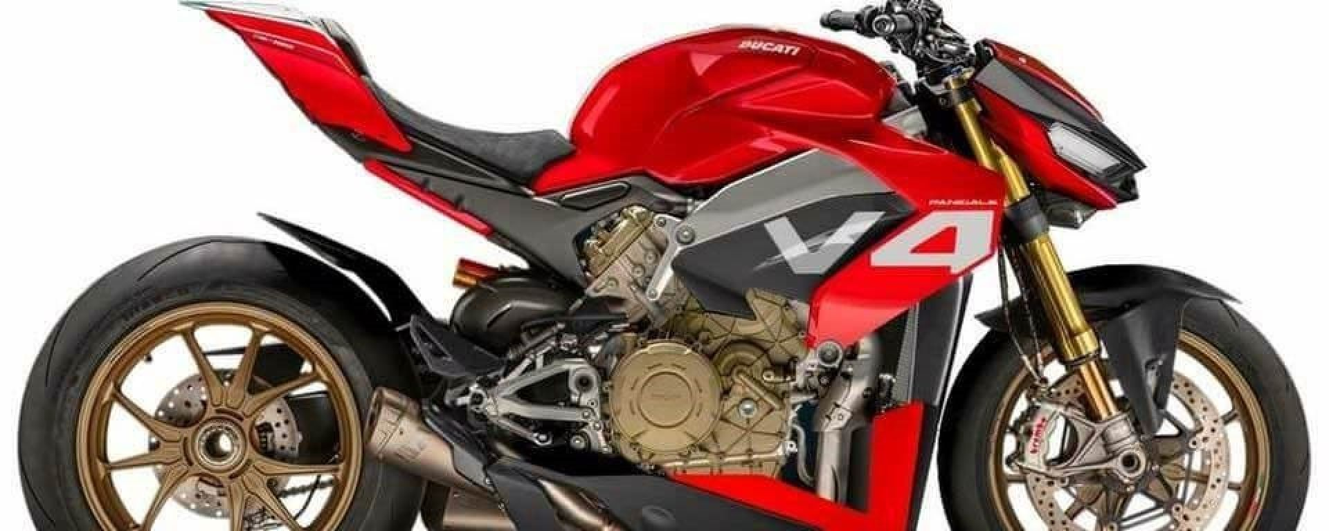 Ducati Streetfighter V4: ecco un render di come potrà essere