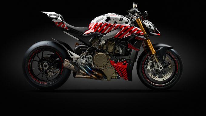 Ducati Streetfighter V4: il prototipo
