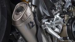 Ducati Streetfighter V4: lo scarico in titanio