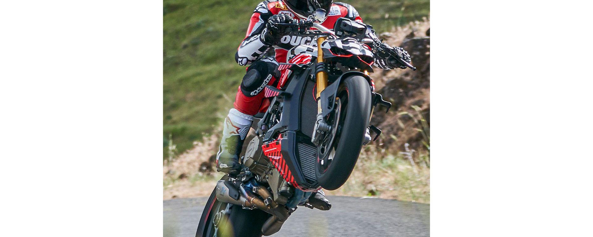 Ducati Streetfighter V4 Prototype alla Pikes Peak