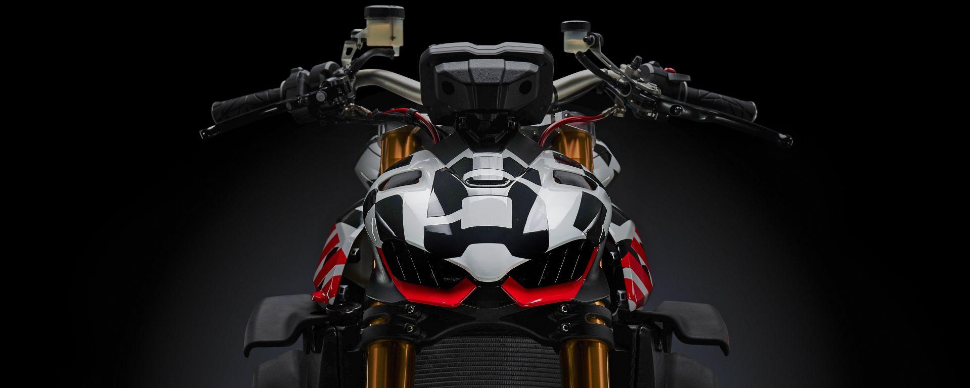 Ducati Streetfighter V4 statica
