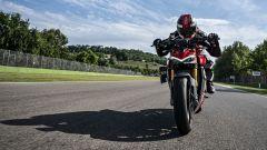 Ducati Streetfighter V4, vista anteriore