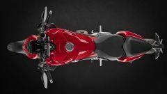 Ducati Streetfighter V4, vista dall'alto