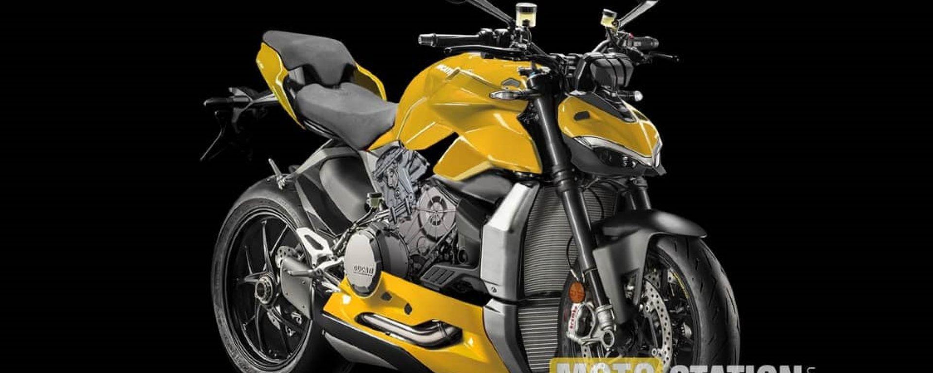 Ducati Streetfihgter V2, potrebbe essere così