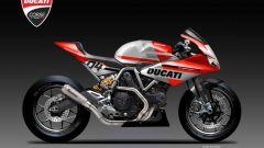 Ducati SuperDesmo R Concept: stile racing per la bicilindrica di Borgo Panigale