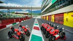 Ducati Superleggera Superbike Experience, le moto schierate