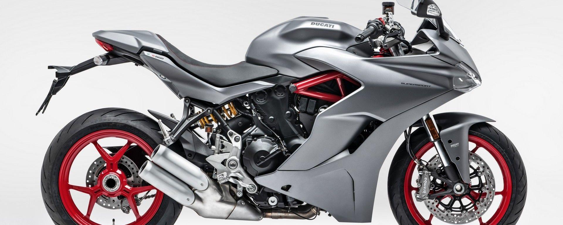 Ducati SuperSport: nuova livrea Titanium Grey... che eleganza