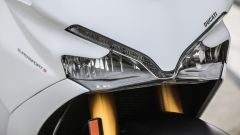 Ducati Supersport S: dettaglio del doppio faro