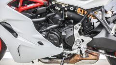 Ducati Supersport S: dettaglio del motore, lato sinistro