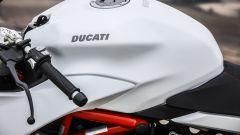 Ducati Supersport S: dettaglio del serbatoio